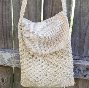 Handbags - Crocheted Crossbody